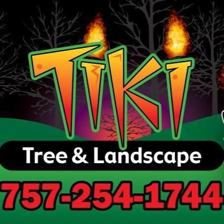 Tiki Tree and Landscape