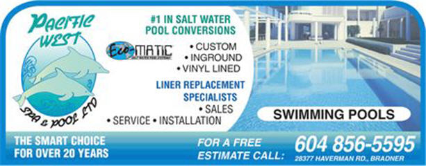 Pacific West Spa & Pool Ltd in Abbotsford