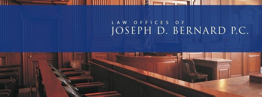 Attorney Joseph D. Bernard image 0