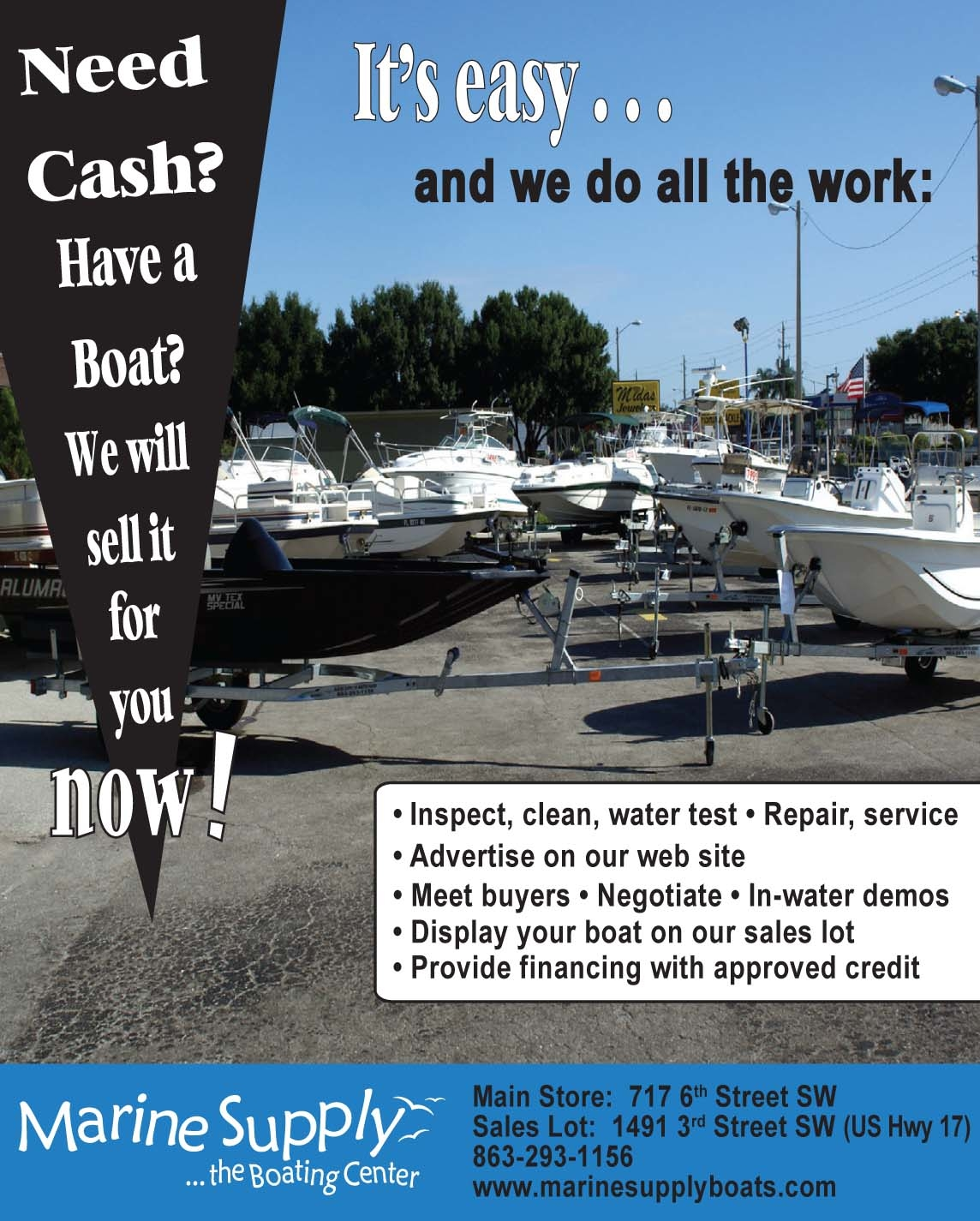 Marine supply boating center coupons near me in winter for Certified yamaha outboard service near me