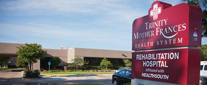 Christus Trinity Mother Frances Rehabilitation Hospital, a partner of Encompass Health image 0