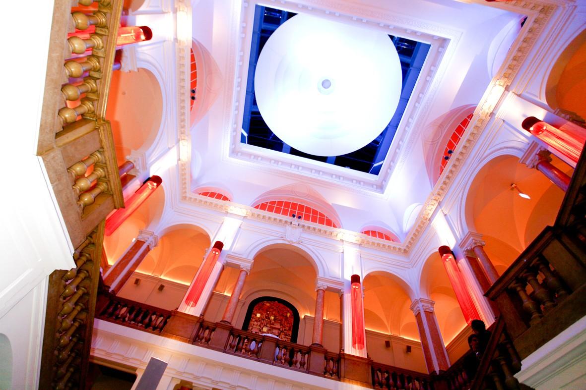 Kuppel im Atrium der Kameha Suite
