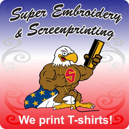 Super embroidery screenprinting coupons near me in