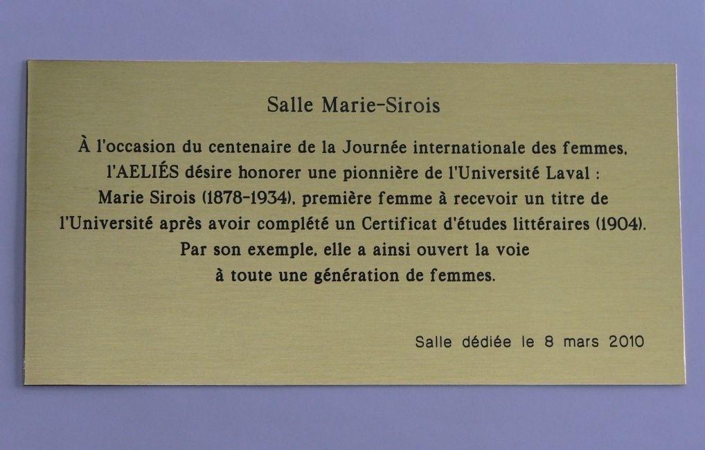 Gravure Universelle à Saint-Jean-Chrysostôme