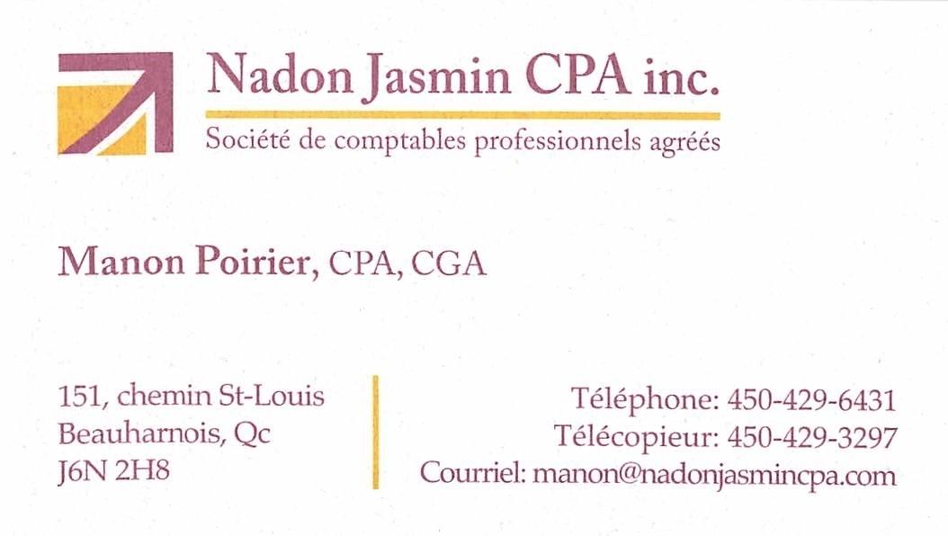 Nadon Jasmin CPA Inc in Beauharnois