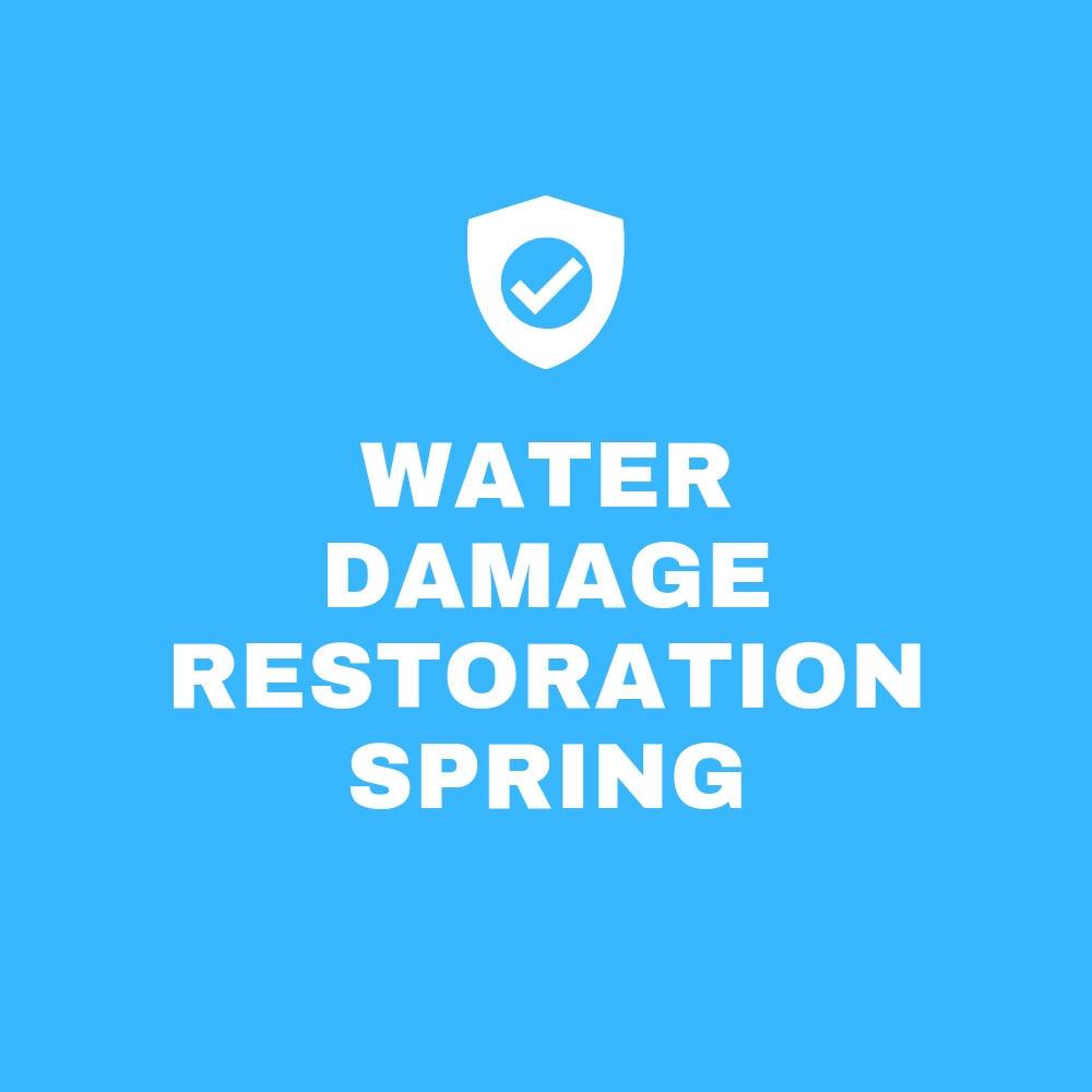 Water Damage Restoration Spring