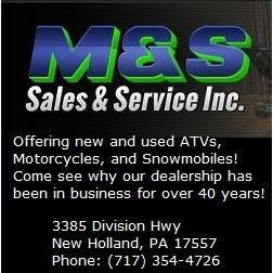 M & S Sales & Service Inc - New Holland, PA - Motorcycles & Scooters