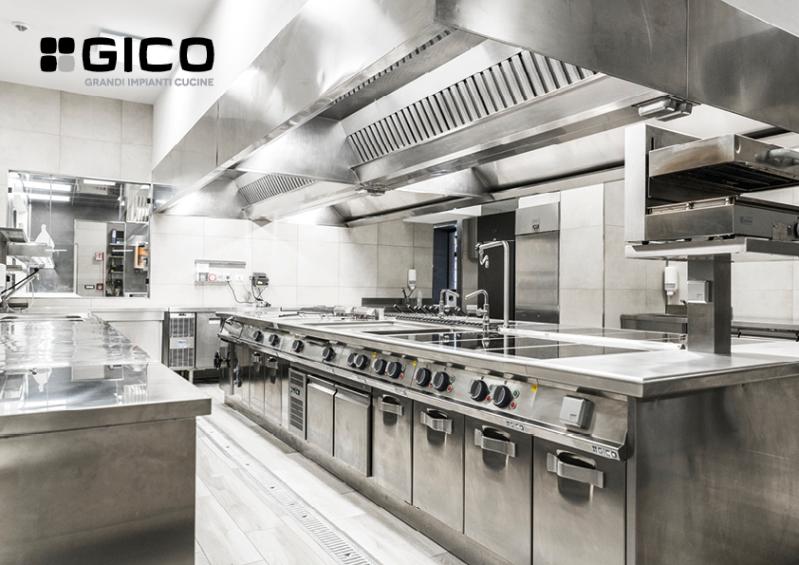 Gico Spa Grandi Impianti Cucine per Comunità
