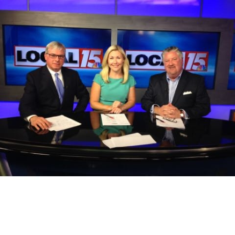 Jim Jeffries and I appearing on Local-15 Law Call last night