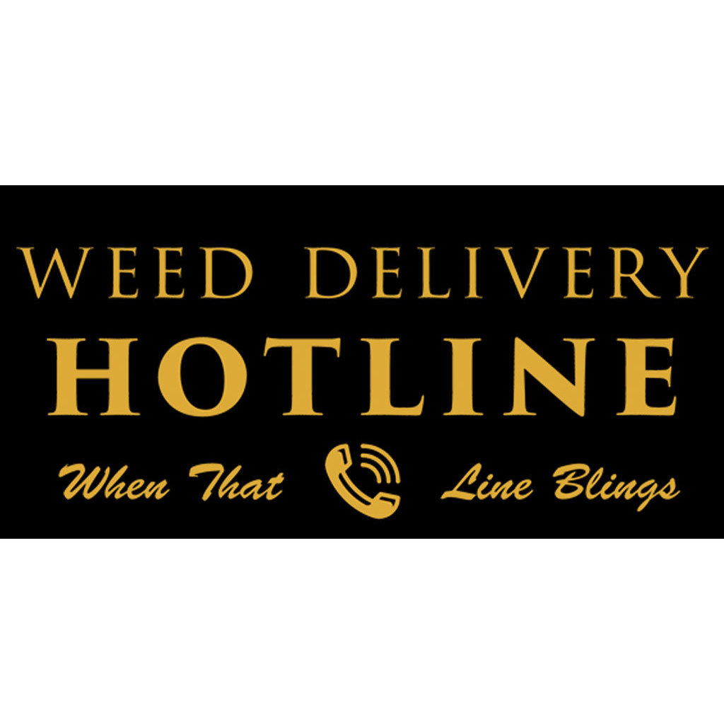 Weed Delivery Hotline
