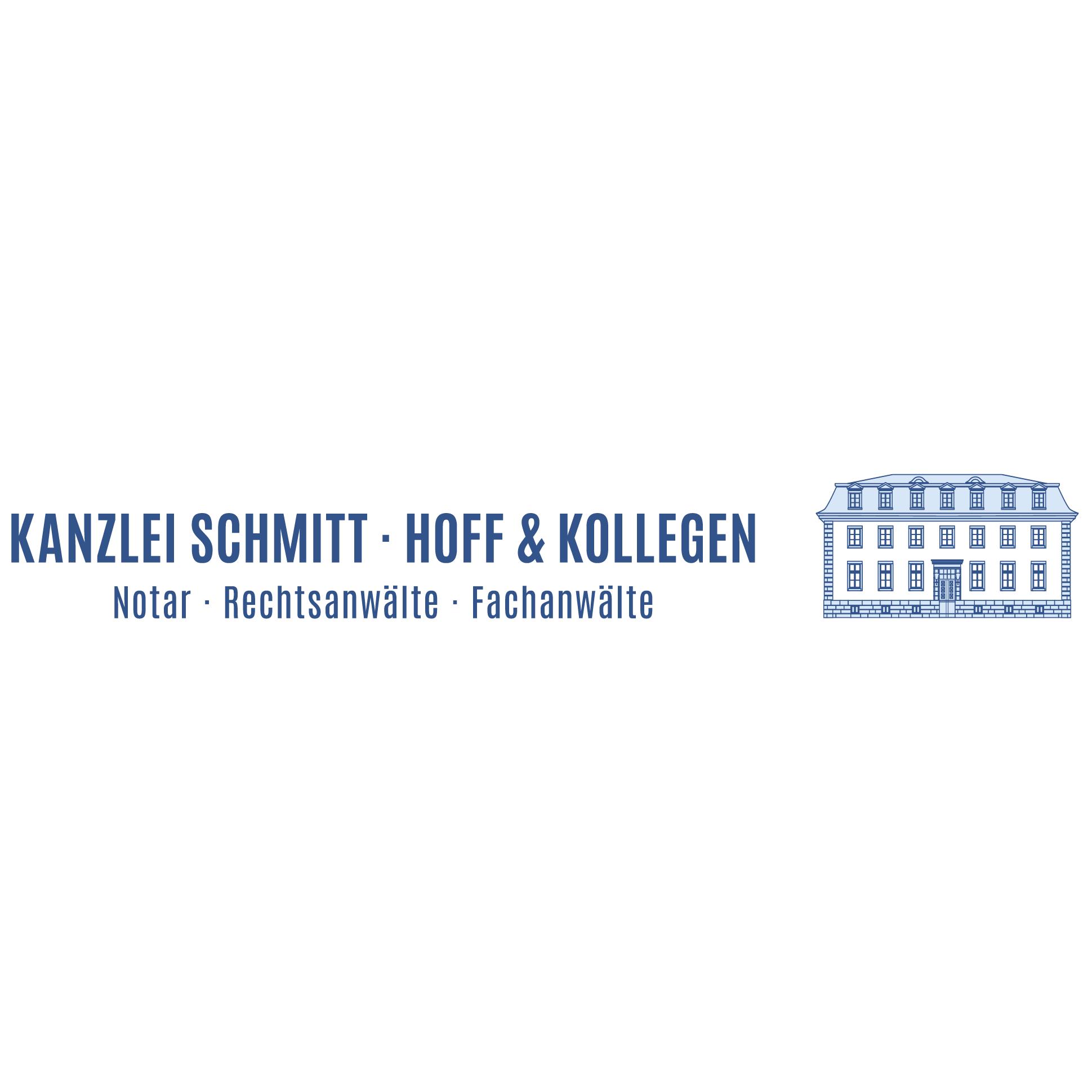 Logo von Kanzlei Schmitt • Hoff & Kollegen