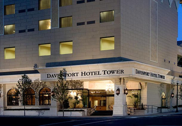 The Davenport Tower Autograph Collection In Spokane Wa