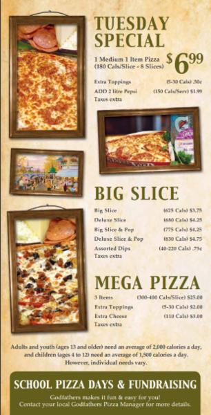 Godfathers Pizza - Delhi in Delhi: Godfathers Pizza Specials