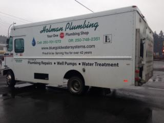 LC Holman Pumps & Plumbing in Duncan