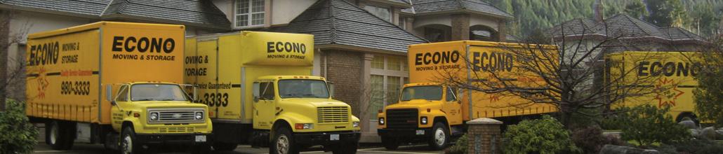 Econo Moving & Storage Ltd in North Vancouver