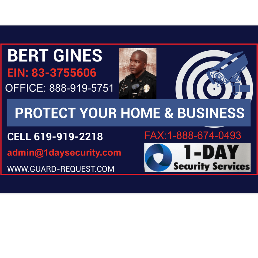 San Diego, Ca. Security Services Ca.