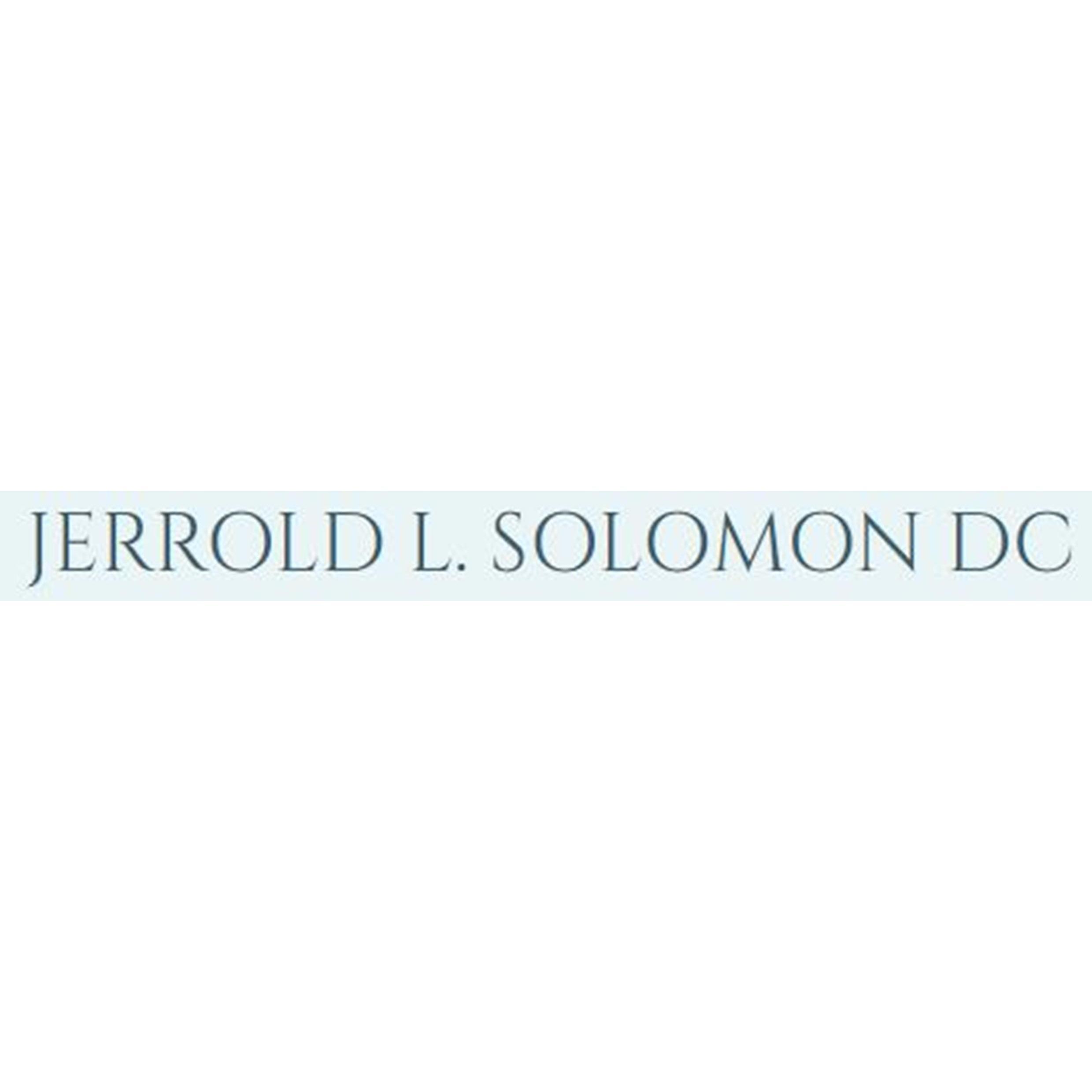 Jerrold L. Solomon D.C., INC. - Tiffin, OH - Chiropractors