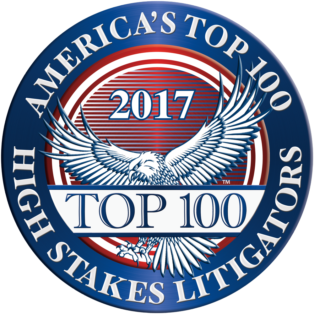 Top 100 High Stakes Litigators
