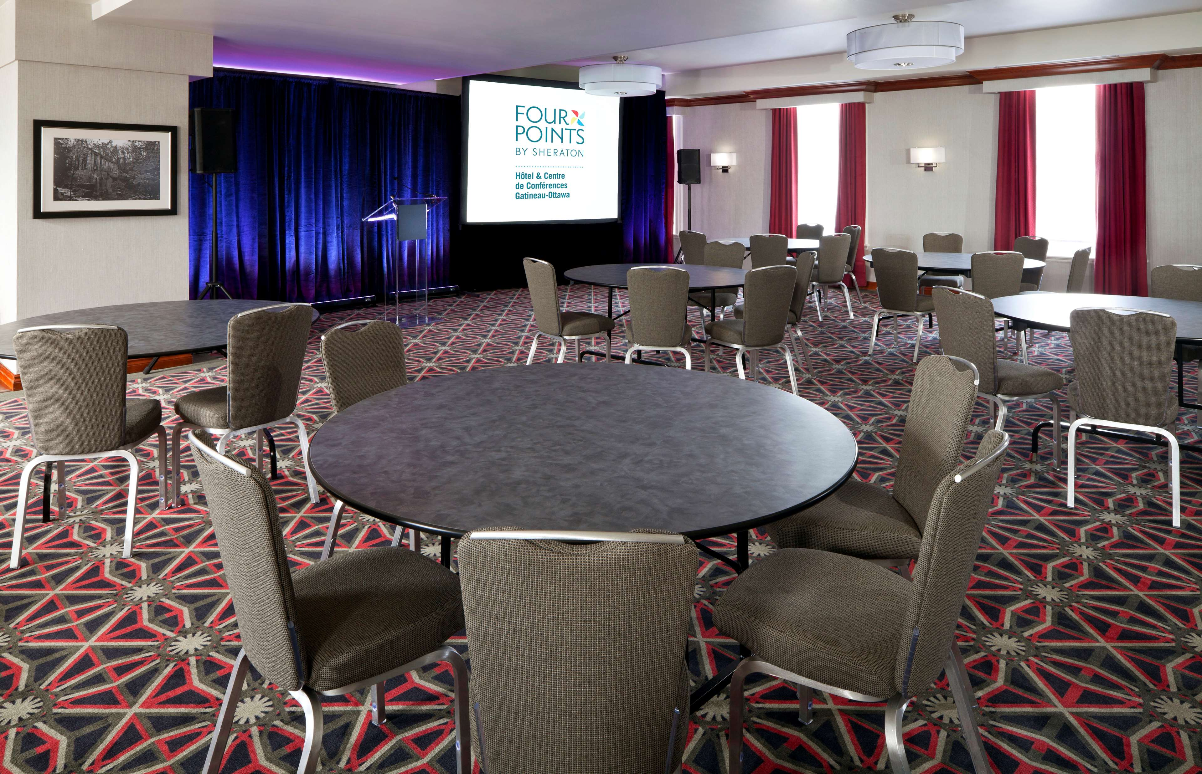 Four Points by Sheraton Hotel & Conference Centre Gatineau-Ottawa à Gatineau: Meeting Facilities