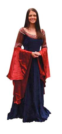 Arwen's Elven Queen Royal Gown