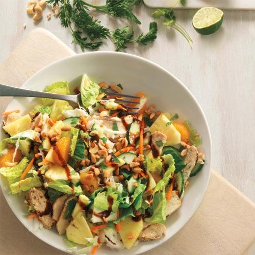 Try the new Chinese Citrus Cashew Salad with Chicken.