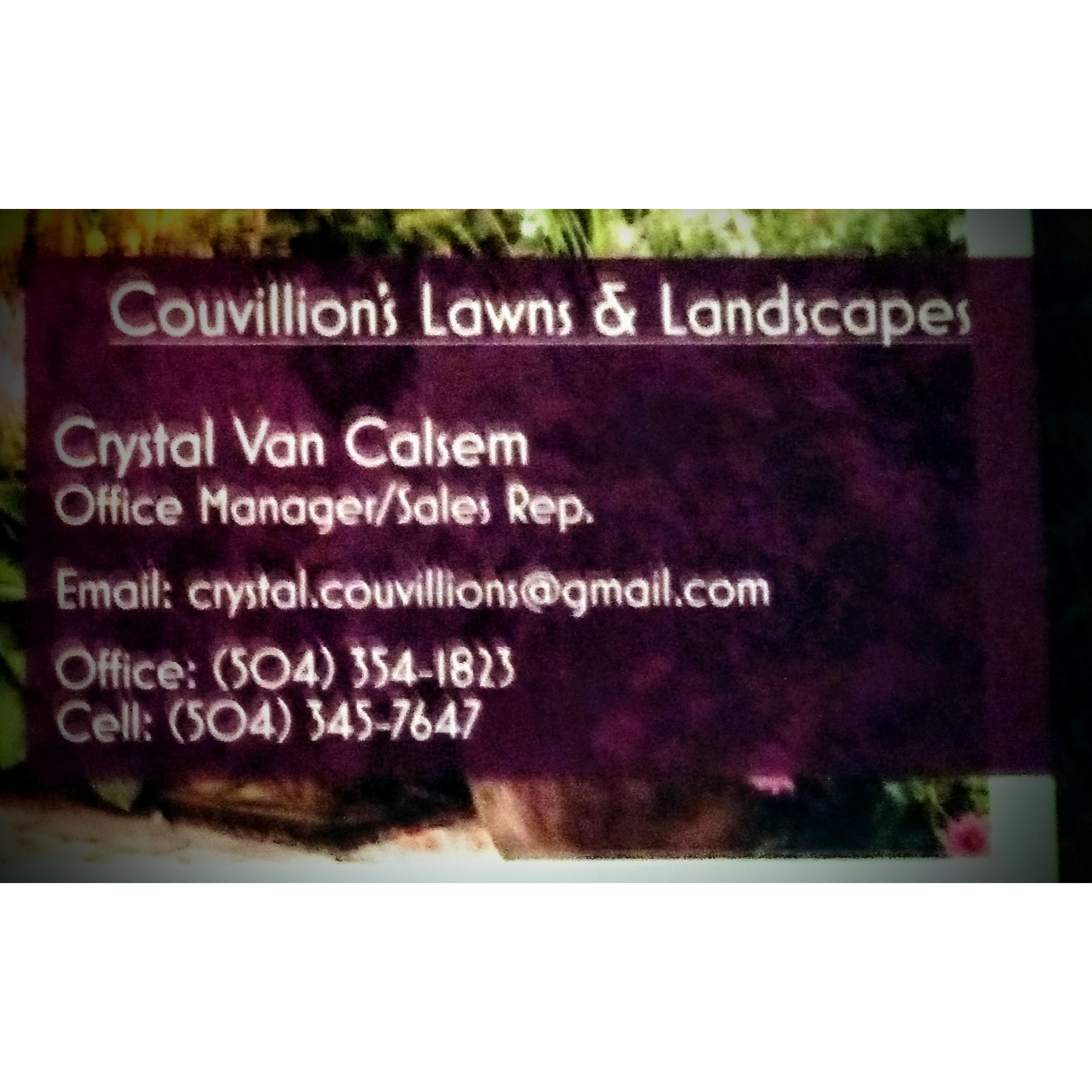 Couvillion's Lawn and Landscaping