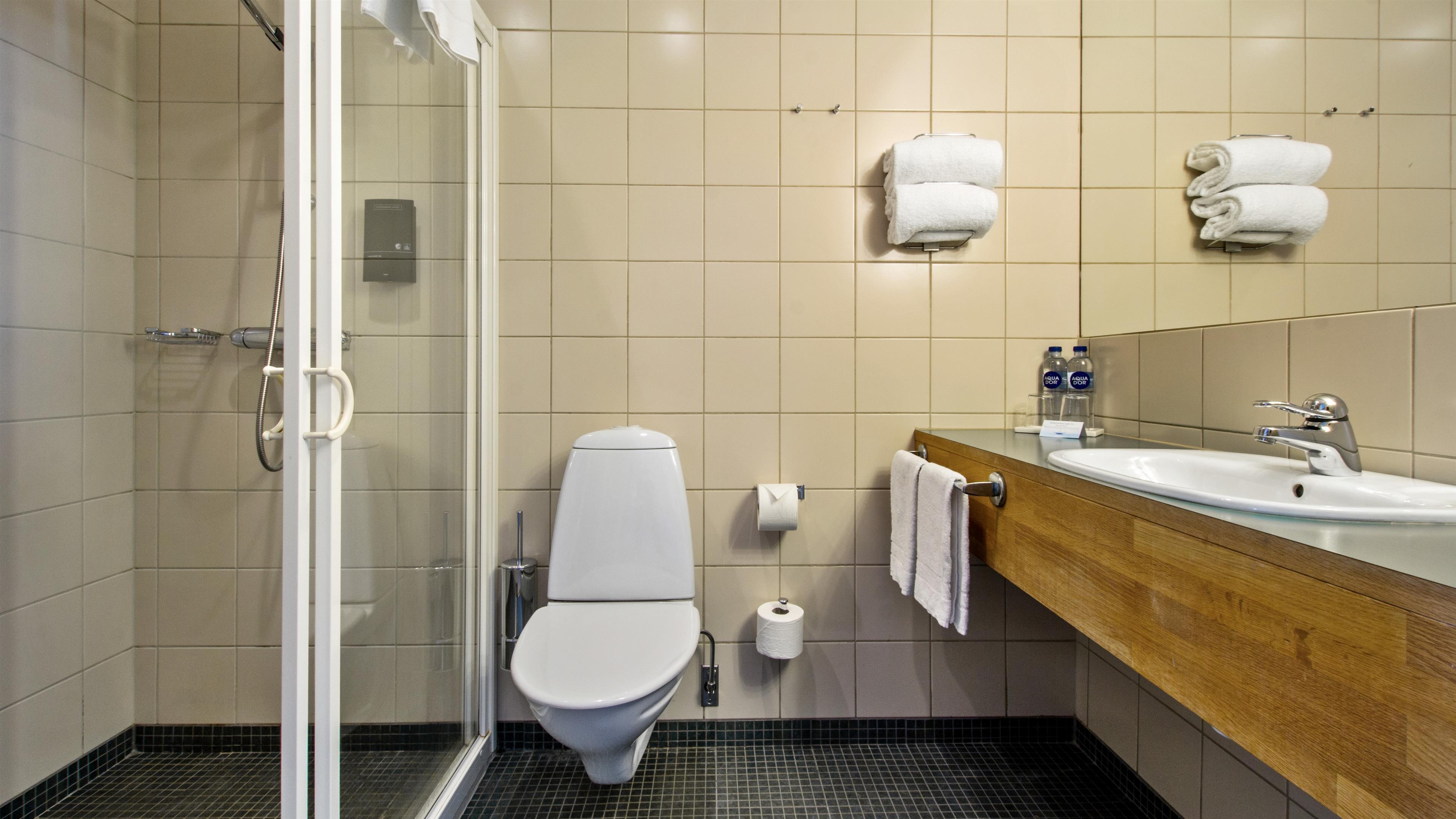Twin Room Bathroom