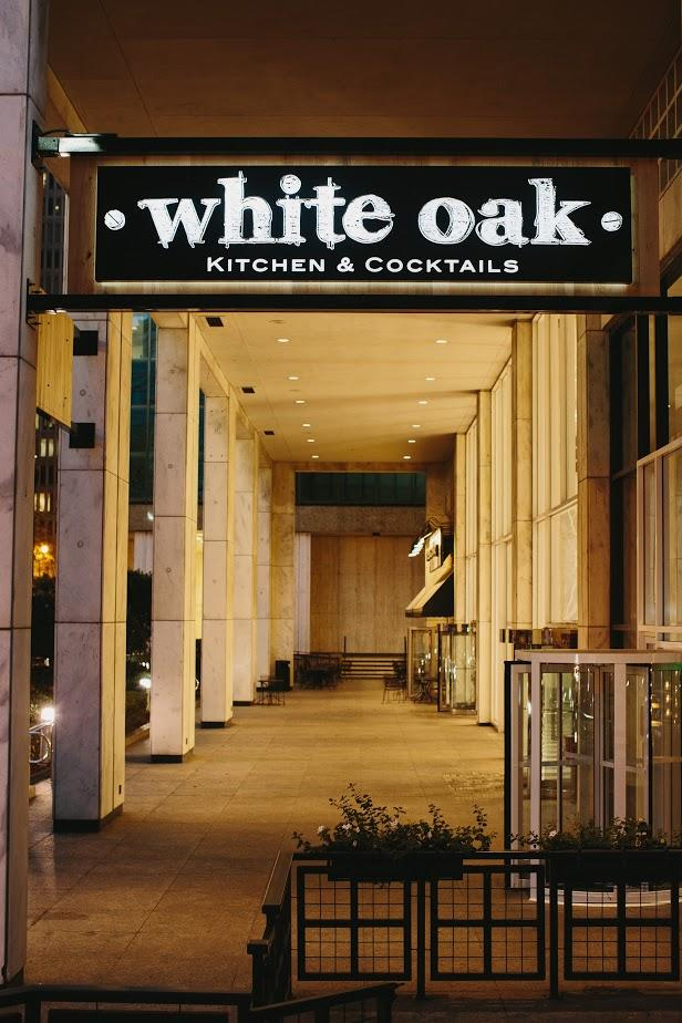 white oak kitchen cocktails at 270 peachtree st nw