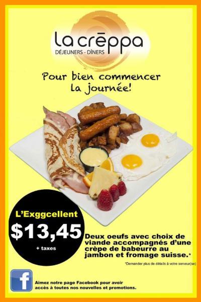 Restaurant La Creppa à Gatineau