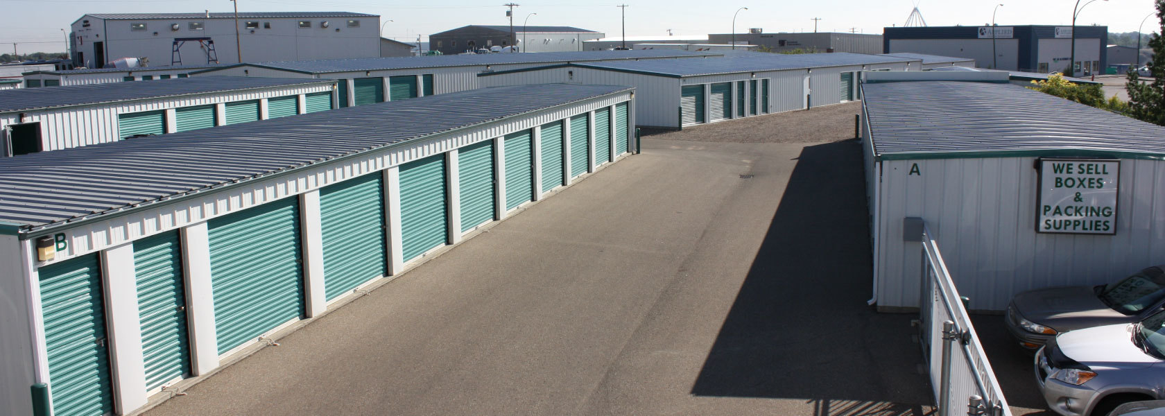 All Seasons Self Storage in Medicine Hat
