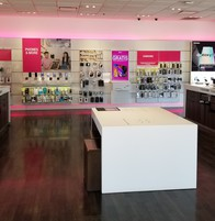 Interior photo of T-Mobile Store at Ih-37 & S New Braunfels Ave, San Antonio, TX