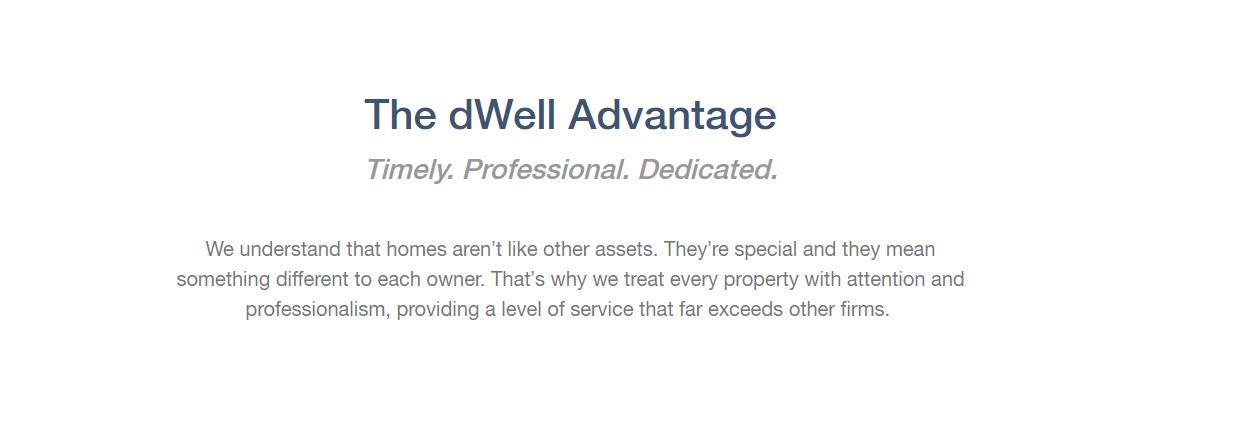 Dwell Property Management in Richmond: The Dwell Advantage