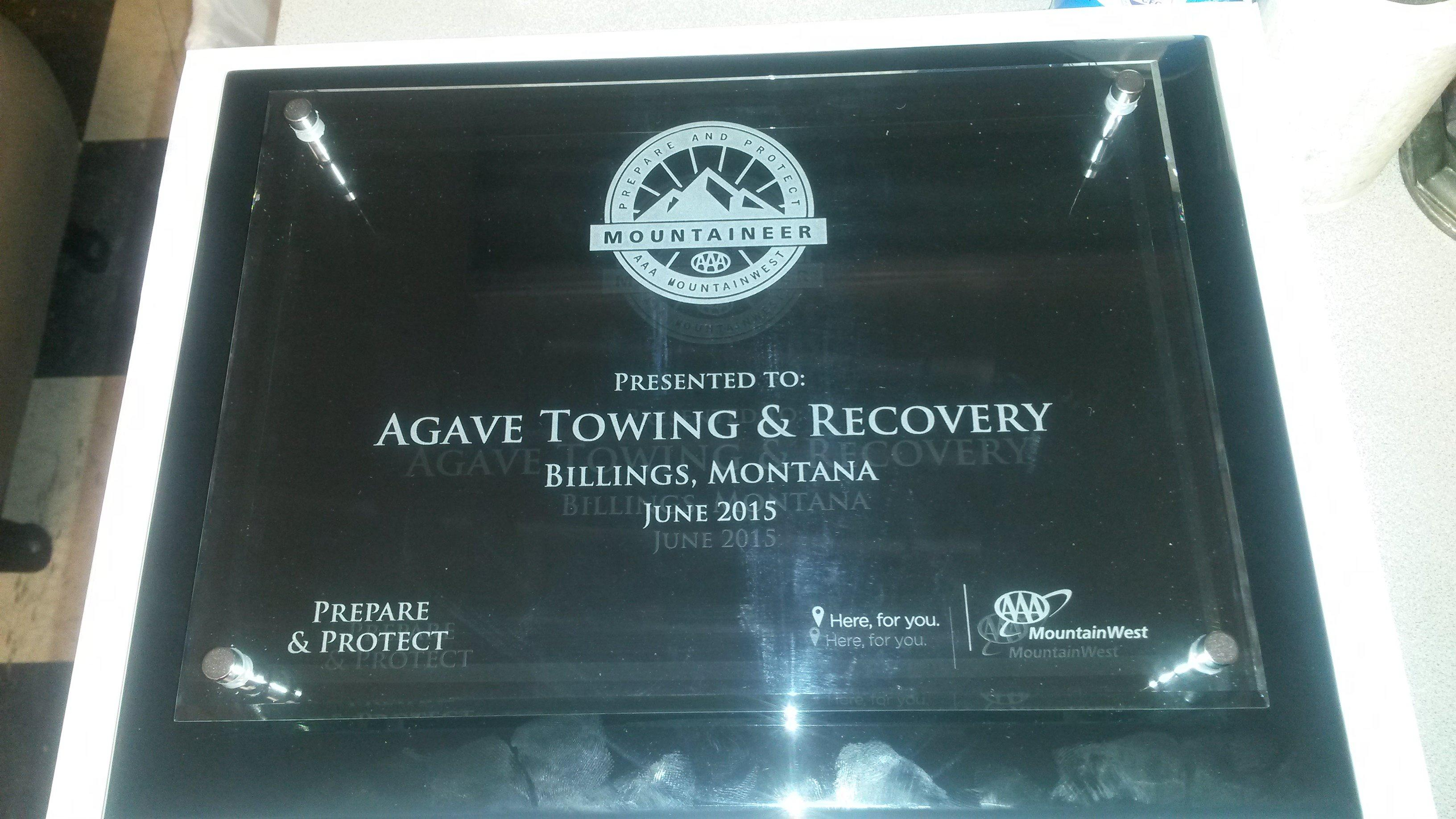Agave Towing & Recovery image 0
