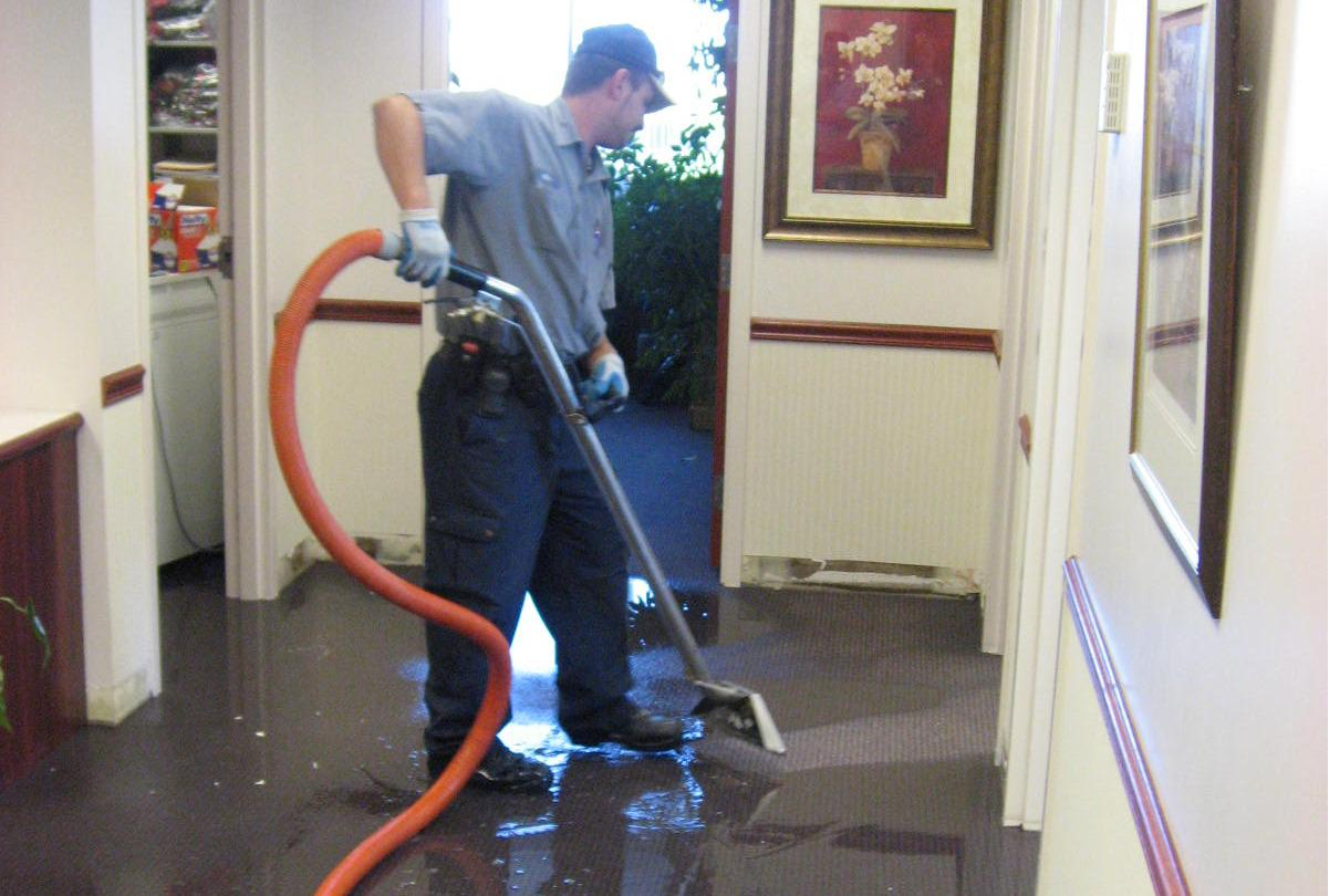 Water Damage Restoration & Water Extraction