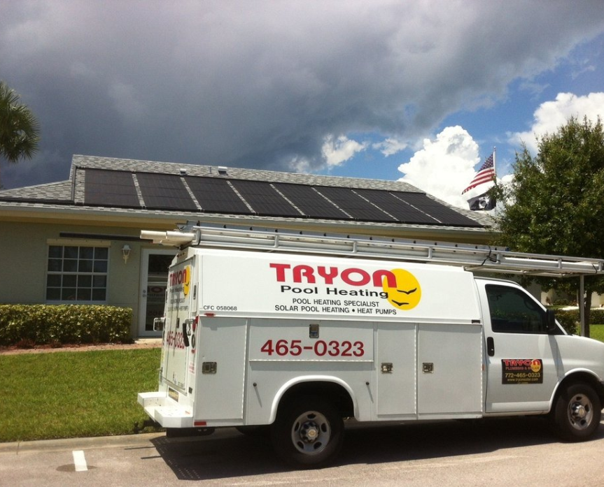 Tryon Pool Heating, Solar and Plumbing in Fort Pierce, FL, photo #6
