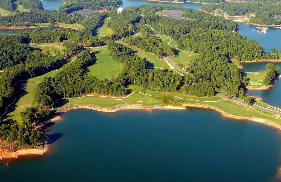 Legacy on Lanier Golf Club. The new Legacy on Lanier Golf Club is owned and operated by Lanier Islands. It opened in and was created by renowned designer Billy Fuller. It has the following features: Stunning lake views; Twelve scenic holes on the water; MiniVerde Bermuda Greens.