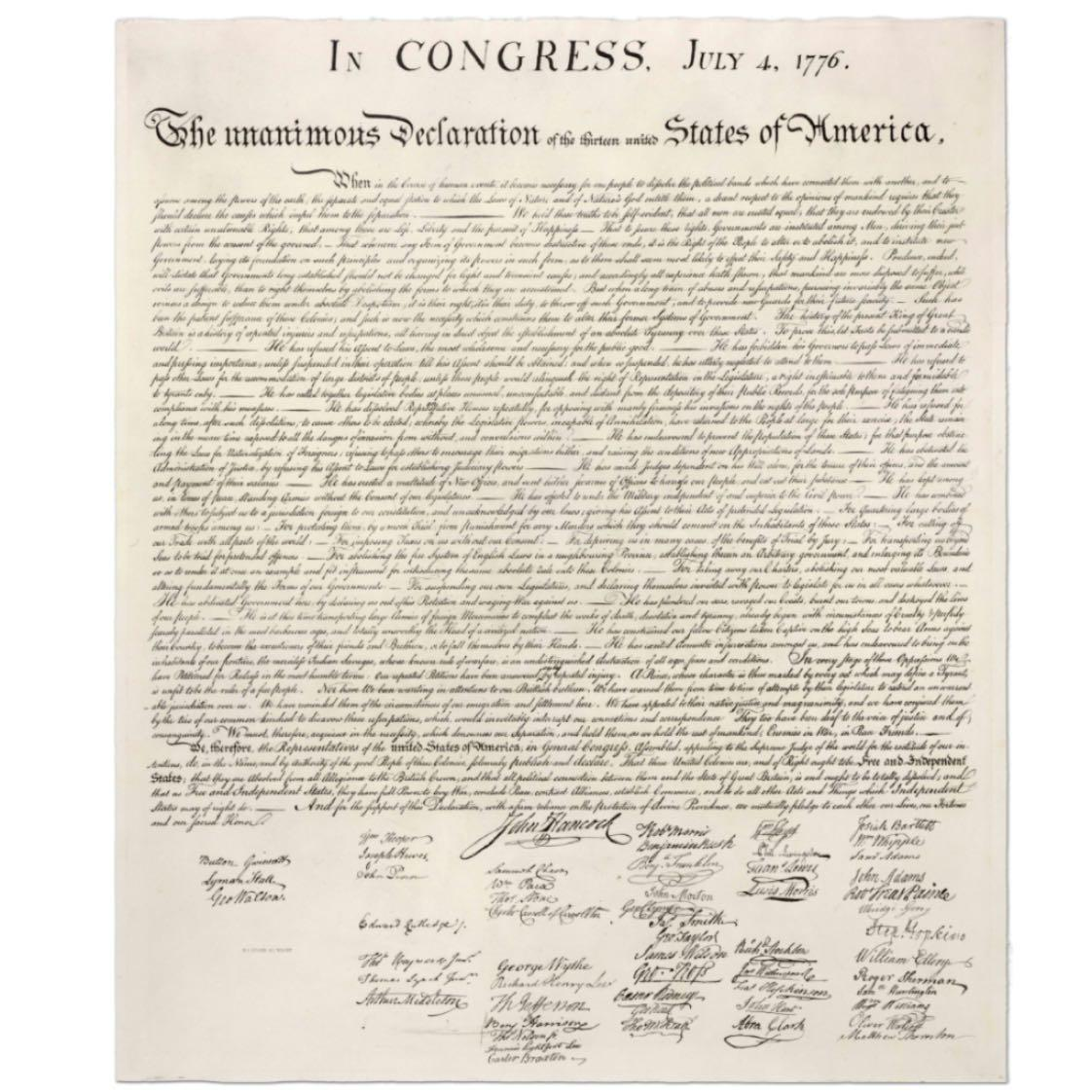 Happy Independence Day America. I am so thankful I get to live in the land of the free and the home of the brave. Take a minute today to read the Declaration of Independence. It's something we should all have written on our hearts. Love God, Love People, Serve Others.