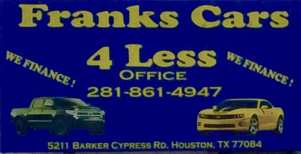 Frank's Cars 4 Less image 0
