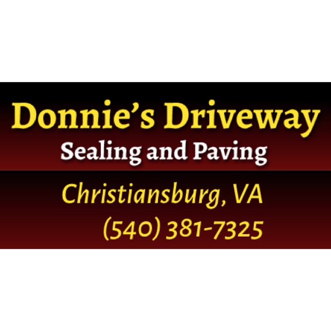 Donnie's Driveway Sealing & Paving