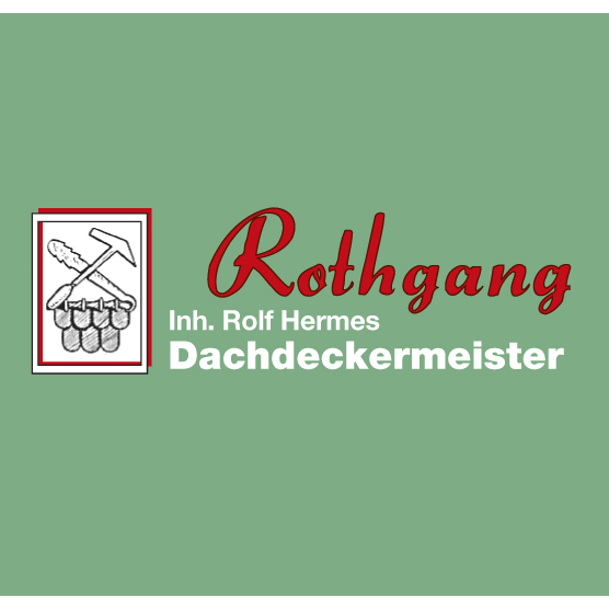 Logo von Dachdecker Rothgang