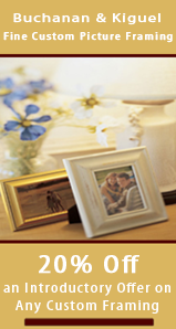 Buchanan and Kiguel Fine Custom Picture Framing image 0