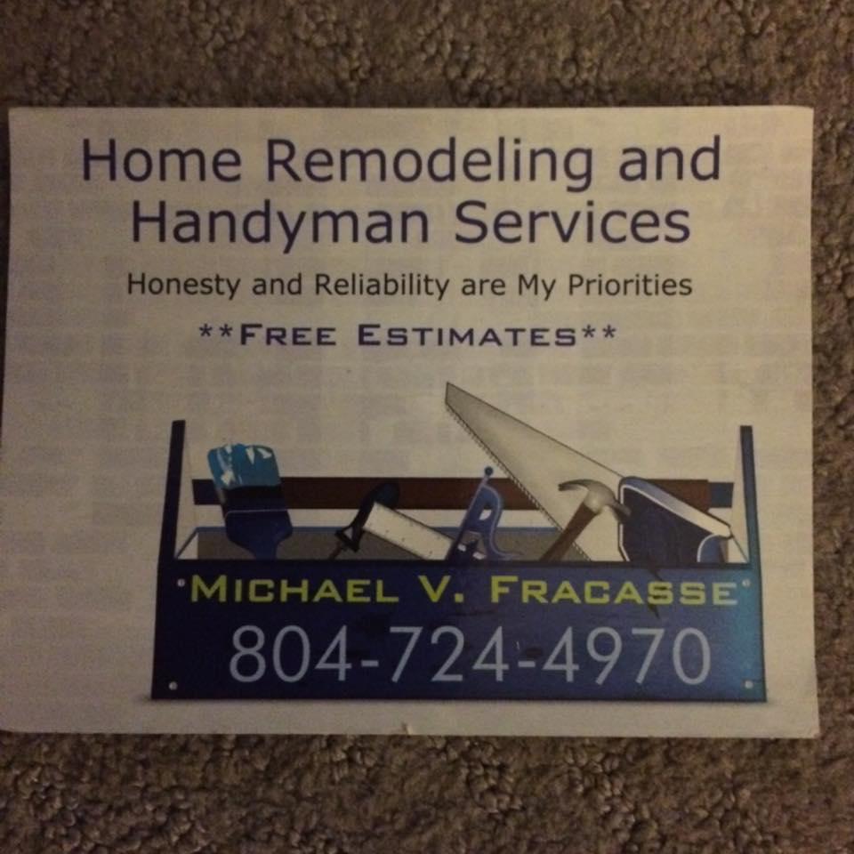 Michael V Fracasse Home Remodeling and Handyman Services image 3