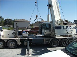 L B Crane Rental in Victoria