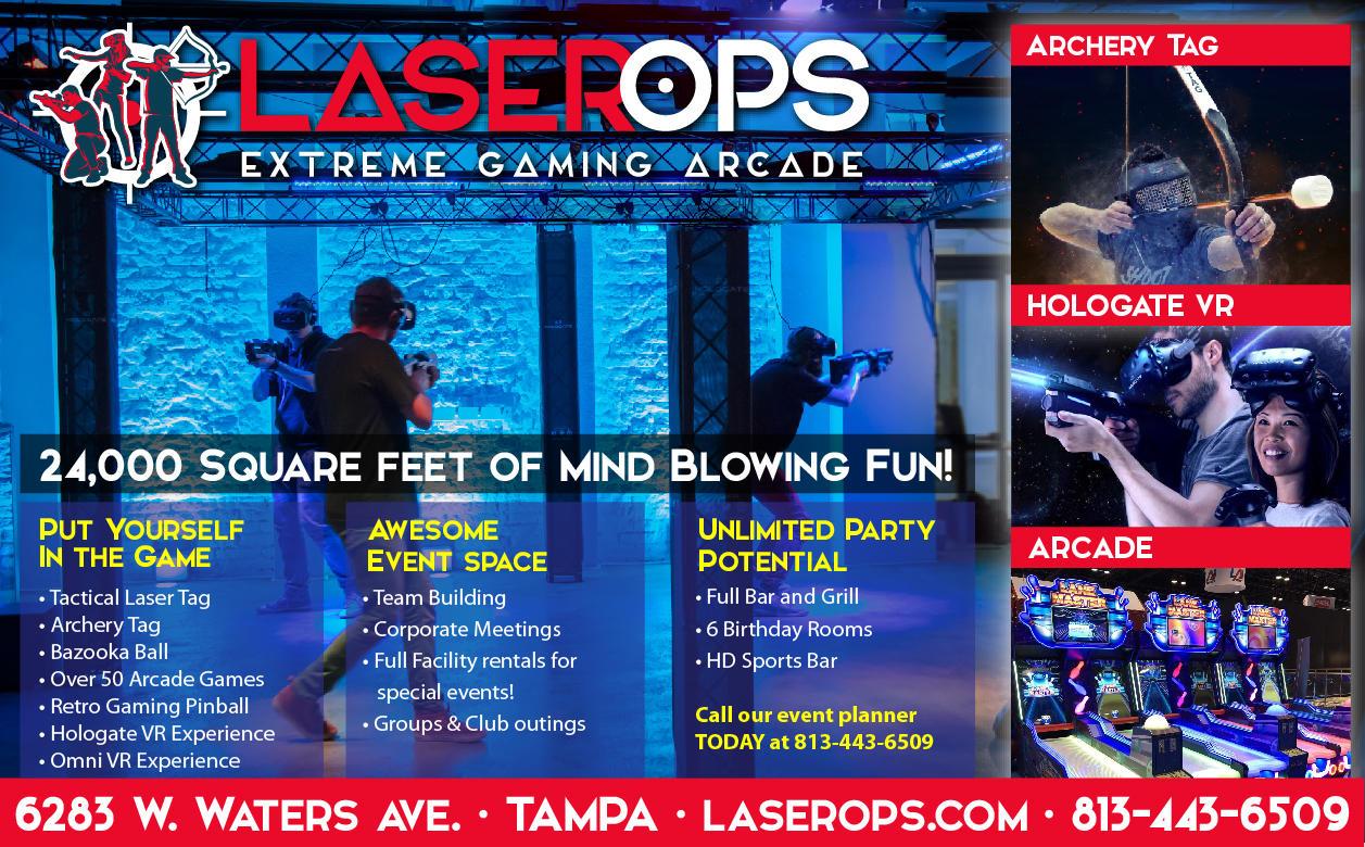 Laser Ops Extreme Gaming Arcade - Tampa