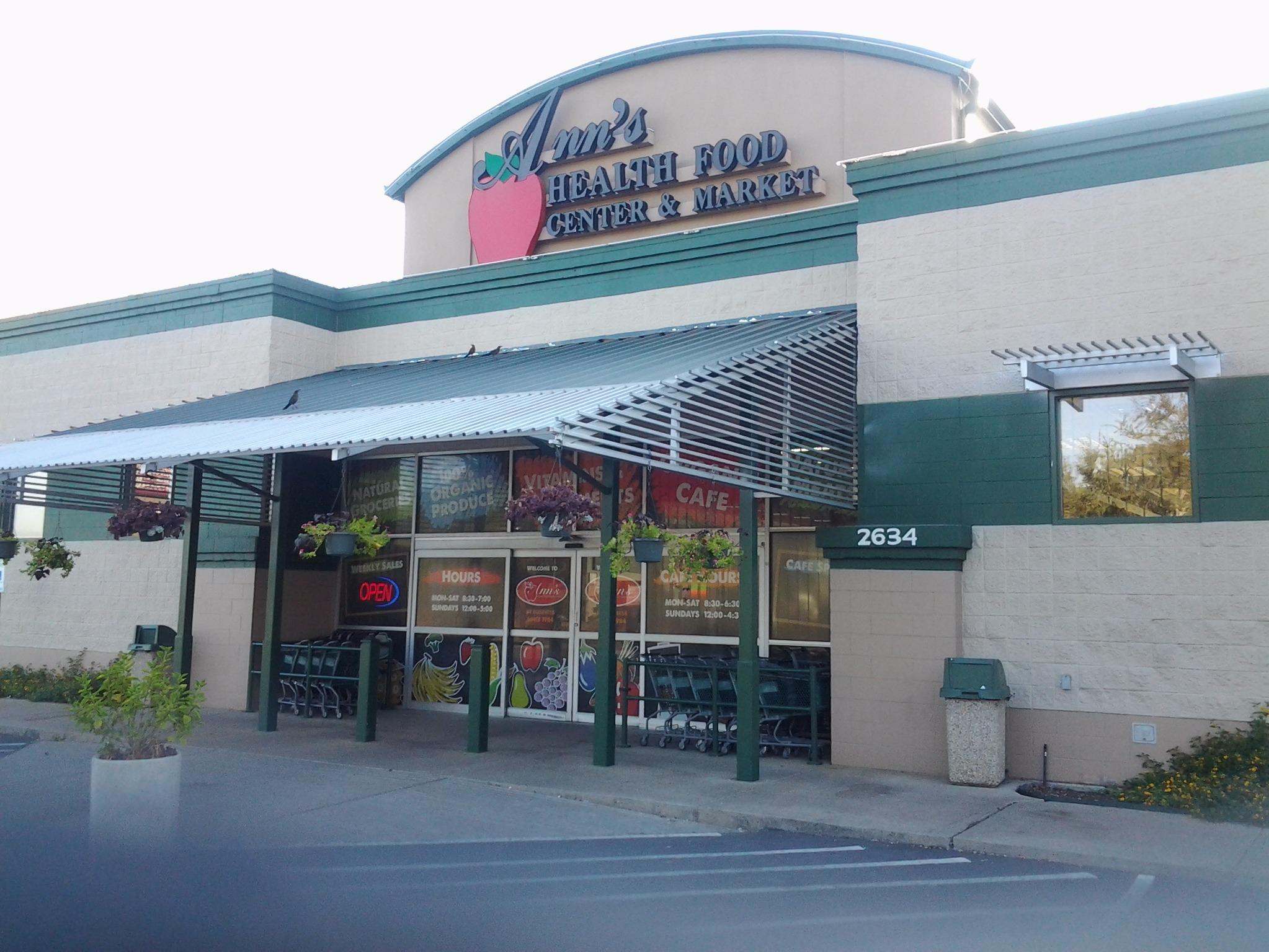 Ann S Health Food Dallas