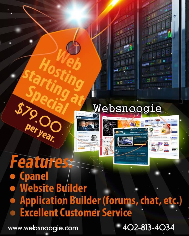 Web Hosting for only $79 per year!