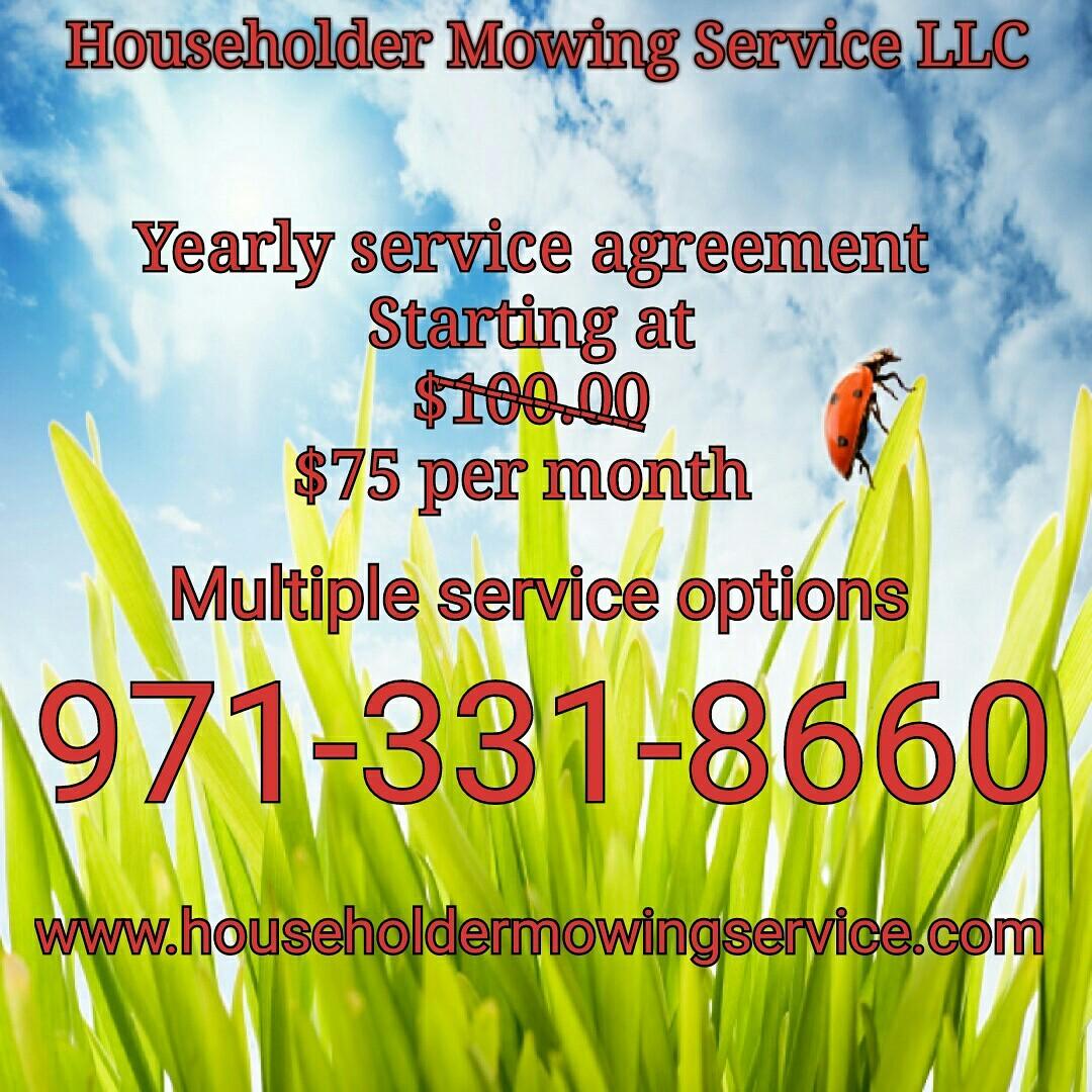 Householder Mowing Service, LLC image 0