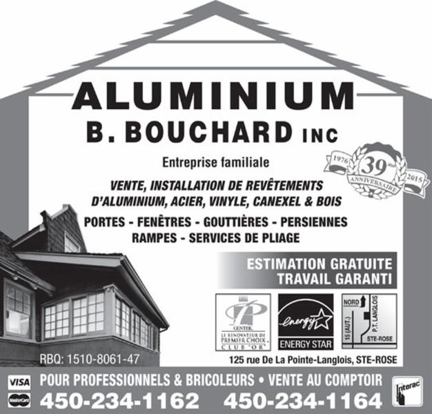 Aluminium B Bouchard Inc à Laval