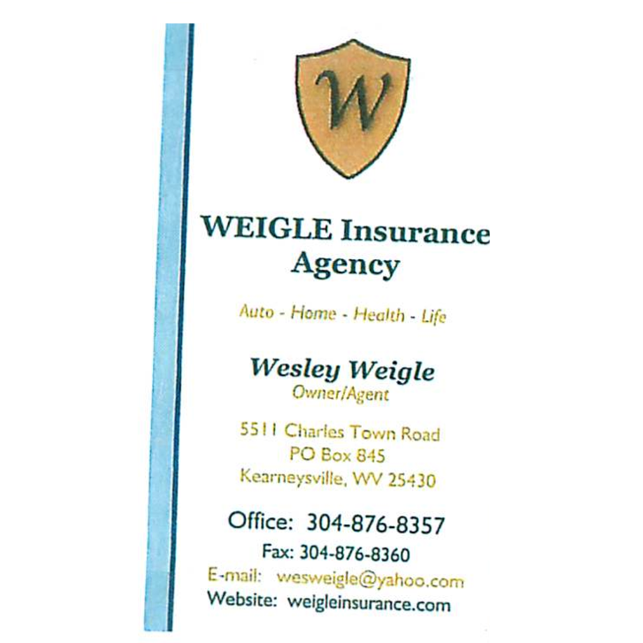 Car Insurance Quotes Virginia: Weigle Insurance Agency In Kearneysville, WV 25430