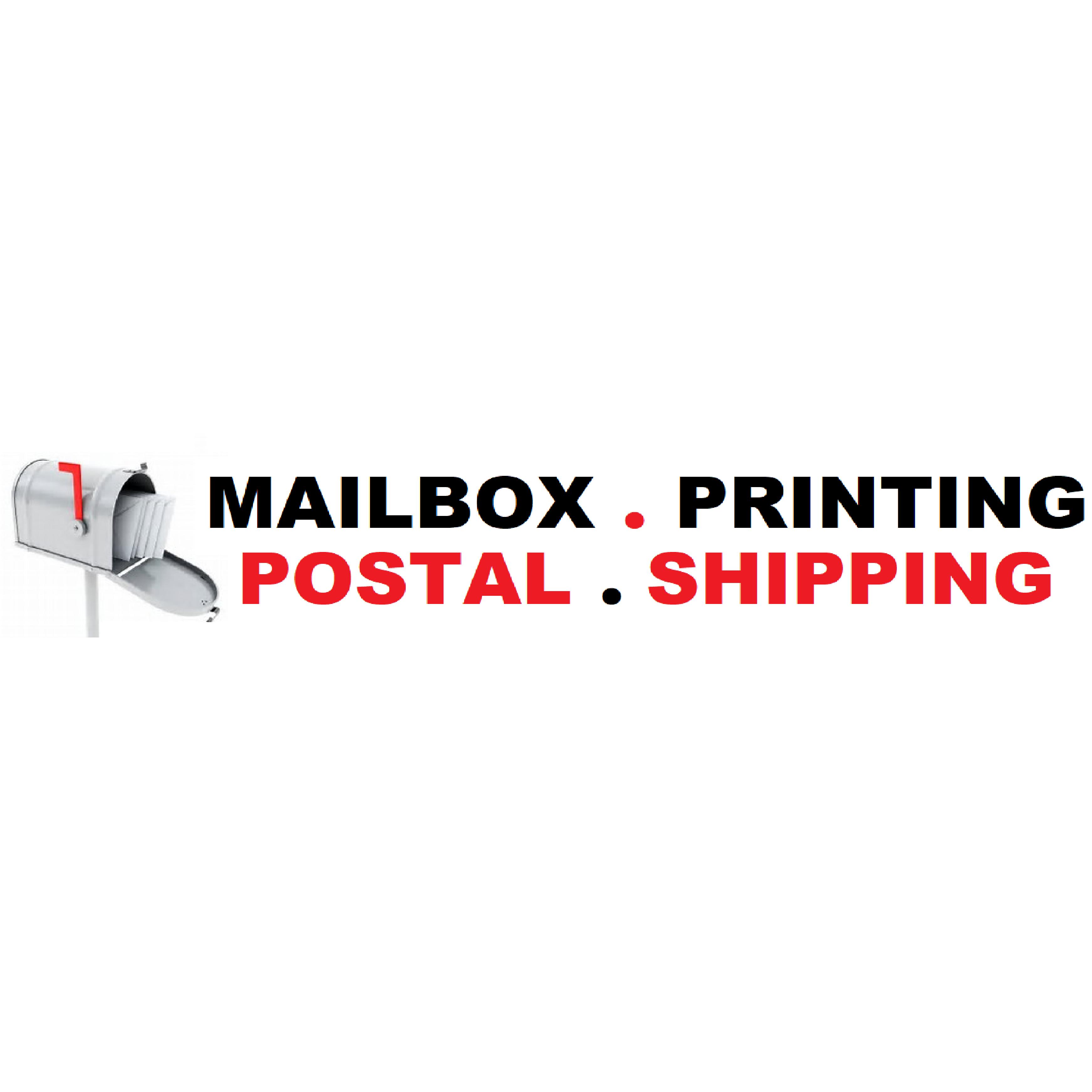Mailbox Printing Postal Shipping